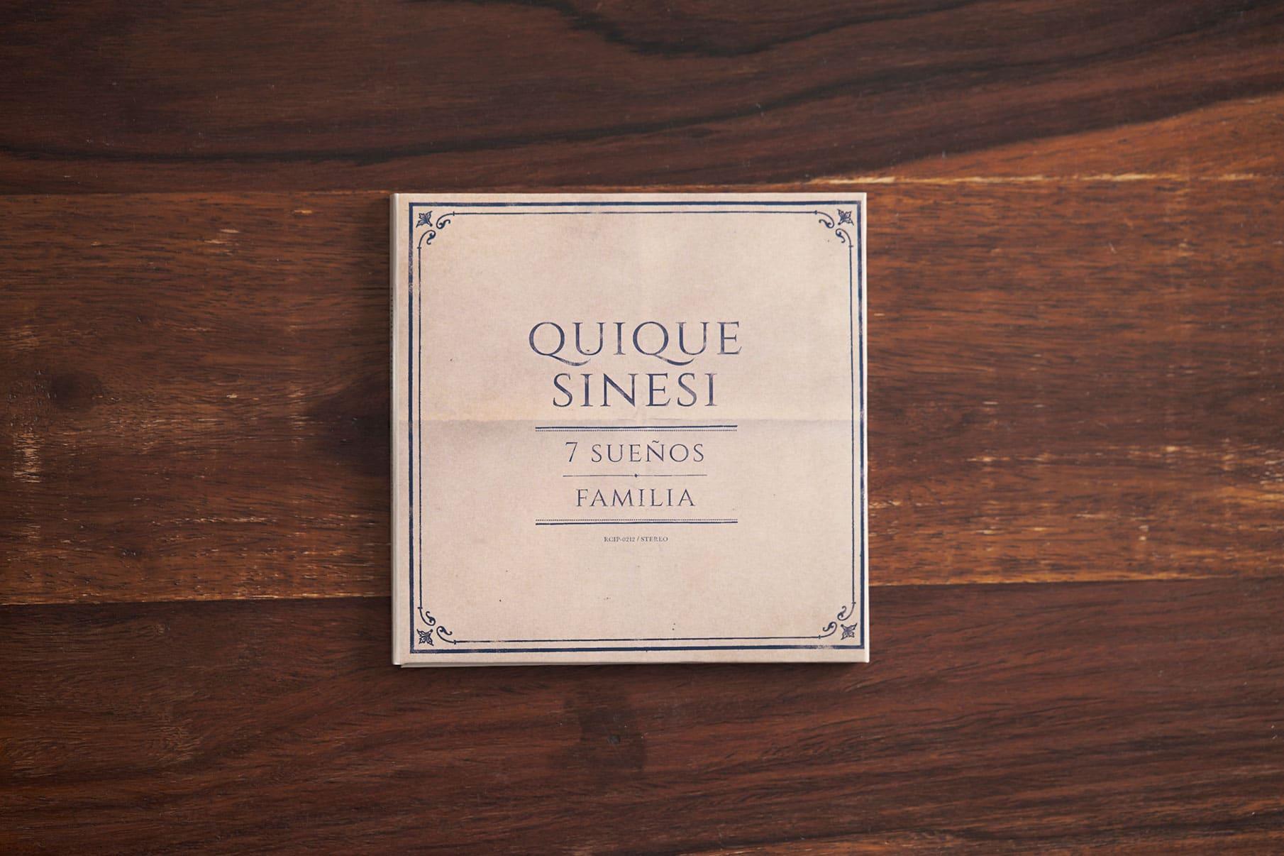 7 Suenos + Familia / Quique Sinesi - CD Cover 1