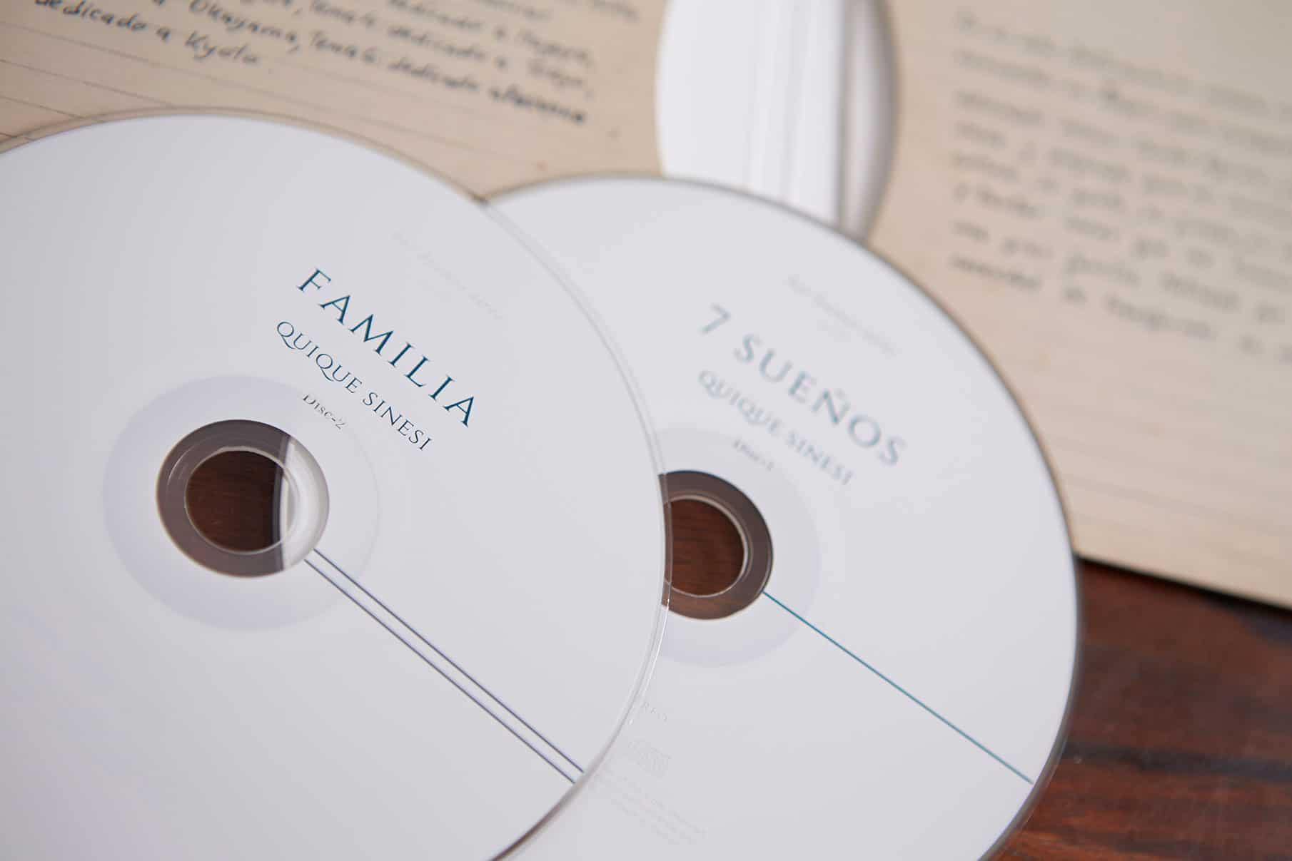 7 Suenos + Familia / Quique Sinesi - CD Cover 4
