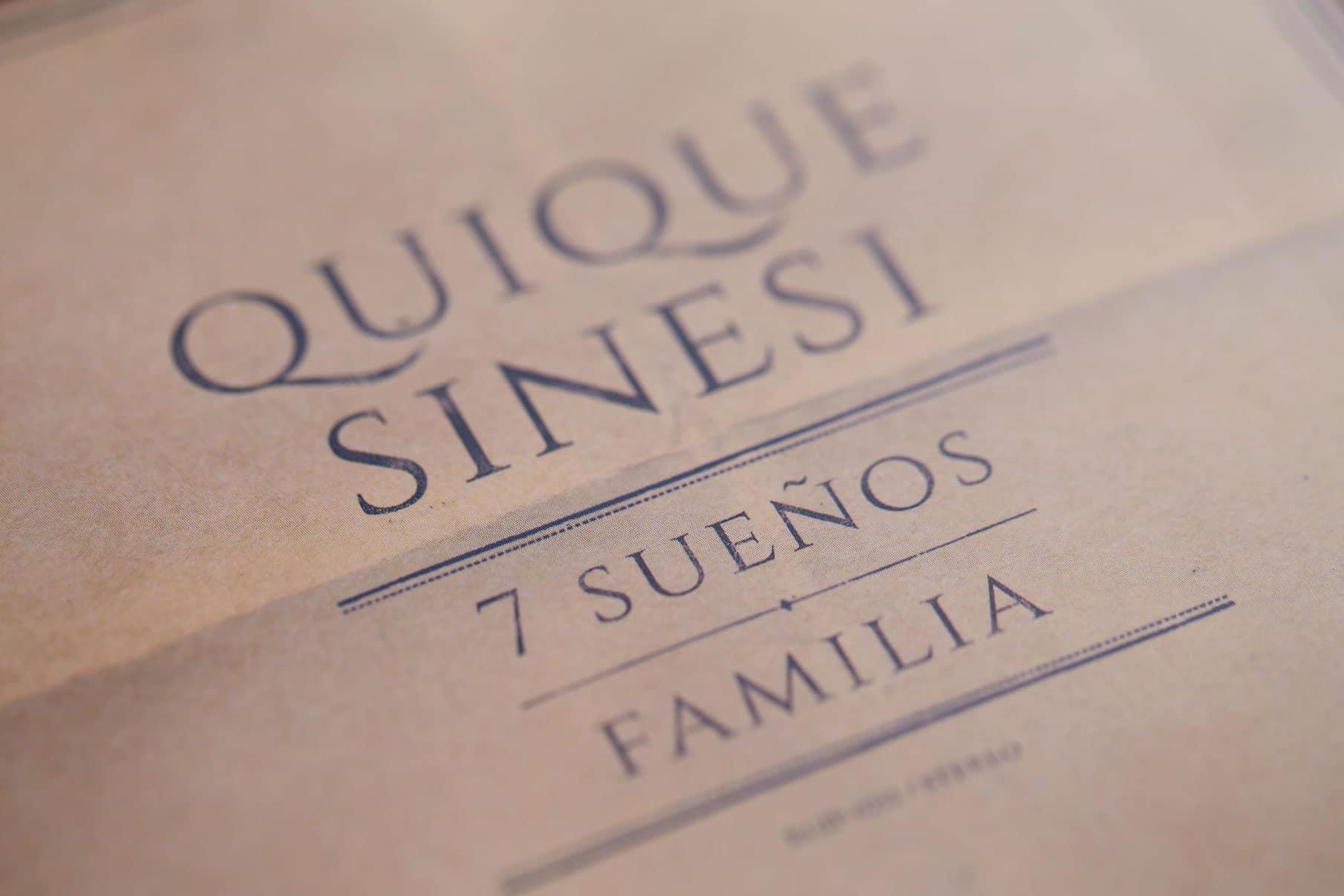7 Suenos + Familia / Quique Sinesi - CD Cover 5