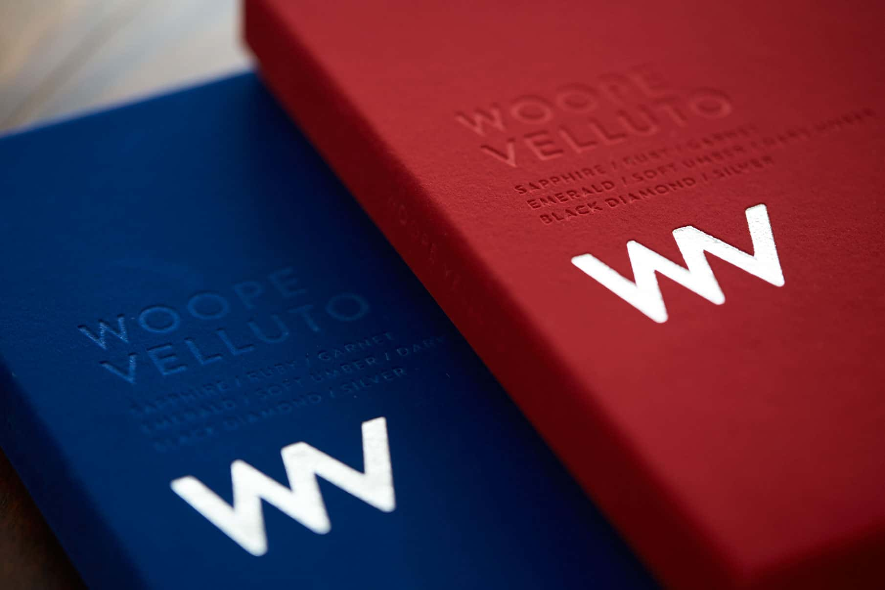 Woope Velluto - Promotion Box 2