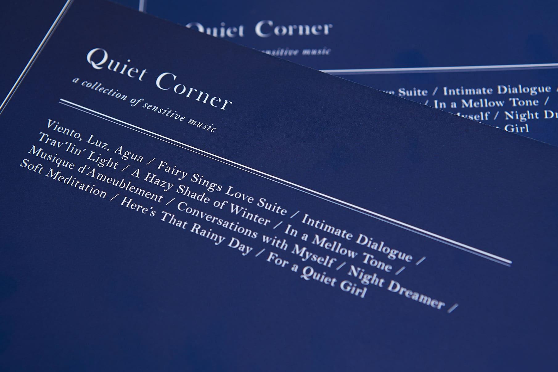 Quiet Corner - Disc Guide Book 12