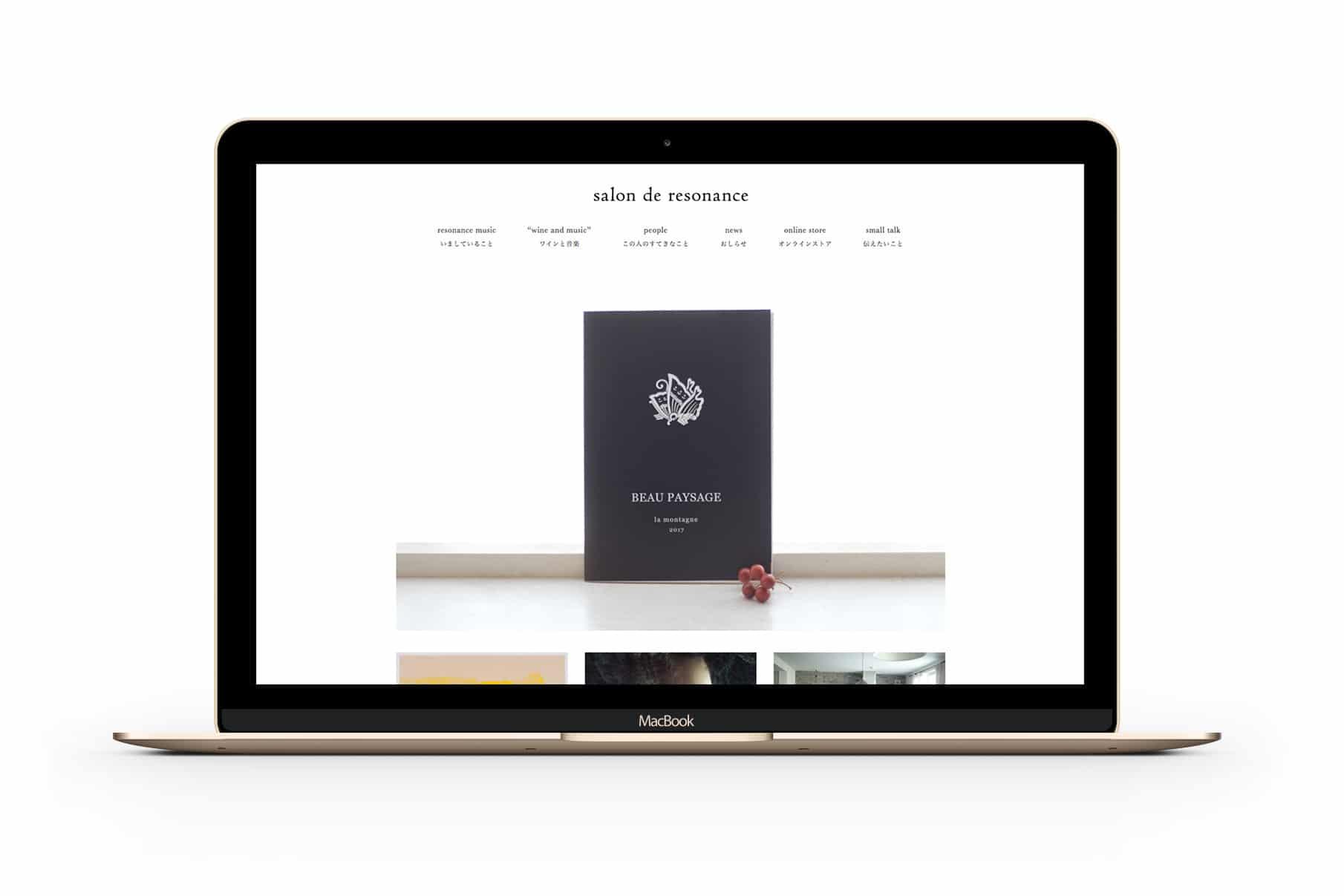 salon de resonance - Website 1